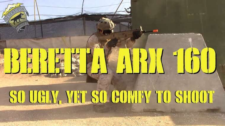 DesertFox Airsoft: Beretta ARX 160 Game Play et revue