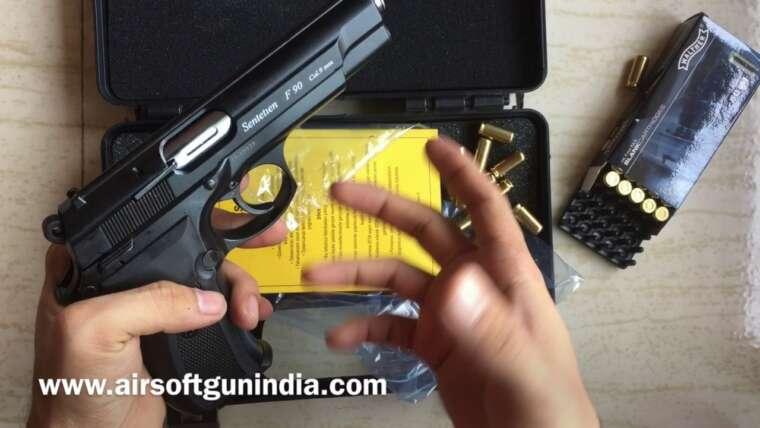 Pistolet à blanc Aska F90 ou Aral 622K par Airsoft Gun Inde