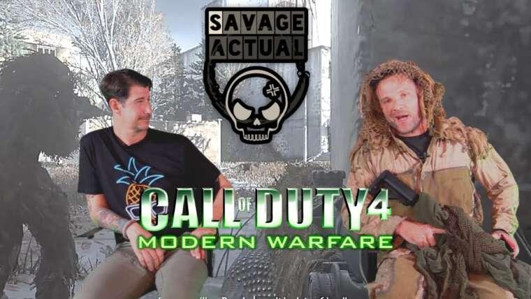 Les vétérans des opérations spéciales réagissent: Call Of Duty All Ghillied Up.