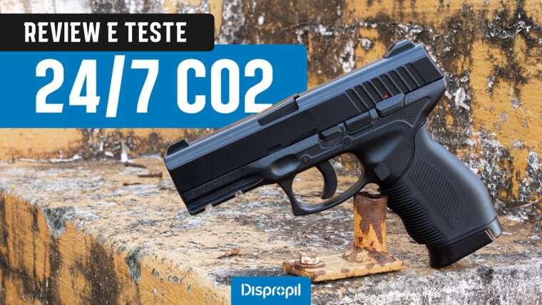 EXAMEN TESTE – PISTOLA 24/7 CO2 4.5MM KWC