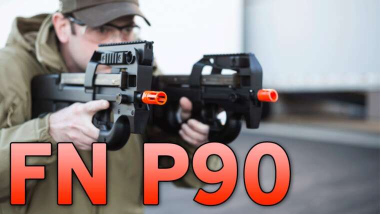 CQB Master FN Herstal P90 From Asia Electric and King Arms – Entièrement sous licence – Airsoft GI