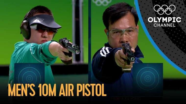 Hoang remporte l'or au pistolet à air comprimé 10m |  Jeux Olympiques de Rio 2016
