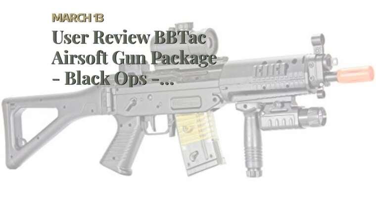 Revue de l'utilisateur BBTac Airsoft Gun Package – Black Ops – Collection de pistolets Airsoft – Pu …