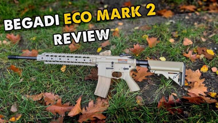 L'arme du débutant à partir de 14 ans!  Begadi Eco Mark 2 Review (ENG SUB)