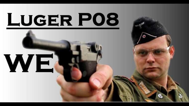 🔫 Luger P08 WE – Présentation de réplique – Airsoft