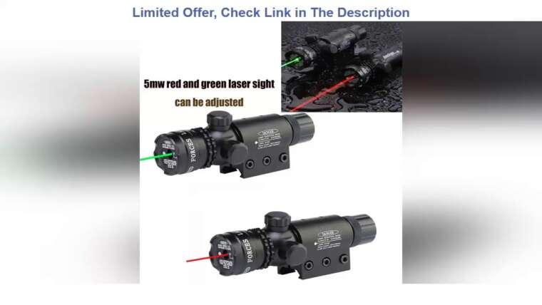 Donner votre avis sur 20mm Airsoft Precise Tactical Laser Mount Green Red Dot Laser Sight Chasse Scope Rail & Bar