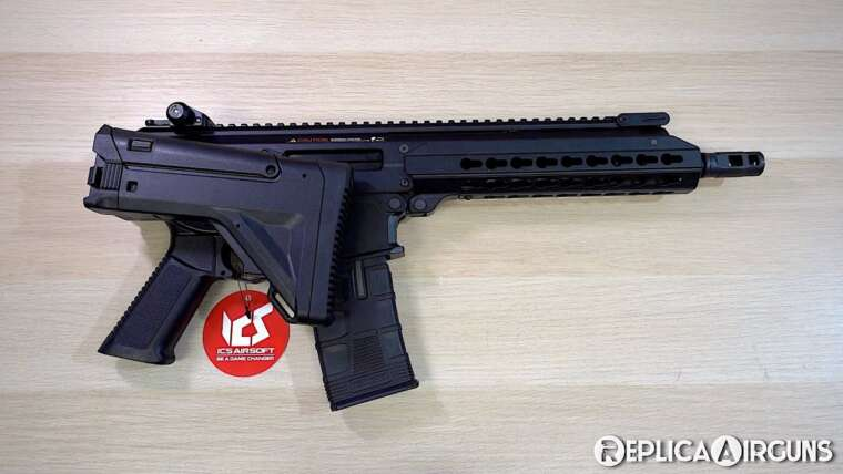 ICS CPX APE SF1 AEG Airsoft Rifle Table Top Review