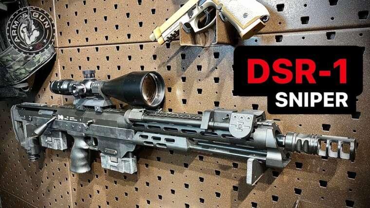 Fusil de précision allemand Bullpup avec une précision insensée |  Présentation du DSR-1