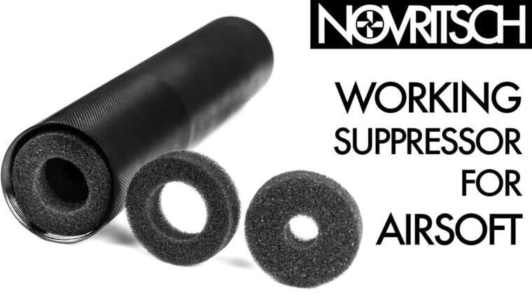 Suppresseur Airsoft efficace par NOVRITSCH
