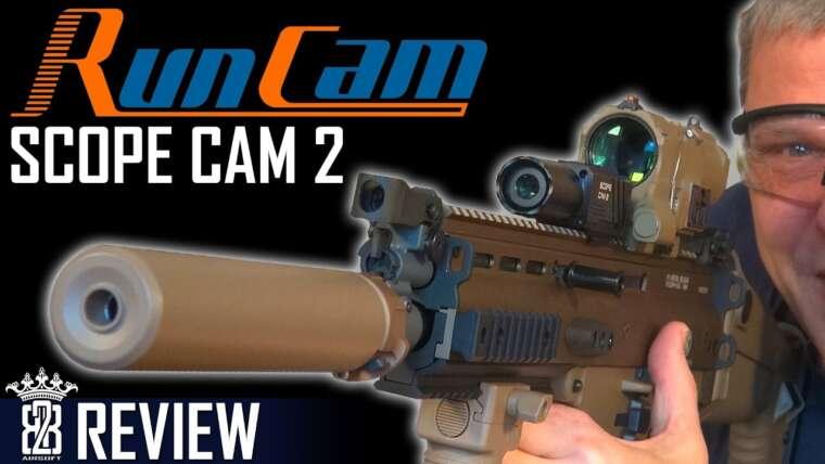 Runcam Scope Cam 2 Caméra 40mm IP64 pour Airsoft Sniper Review Allemand