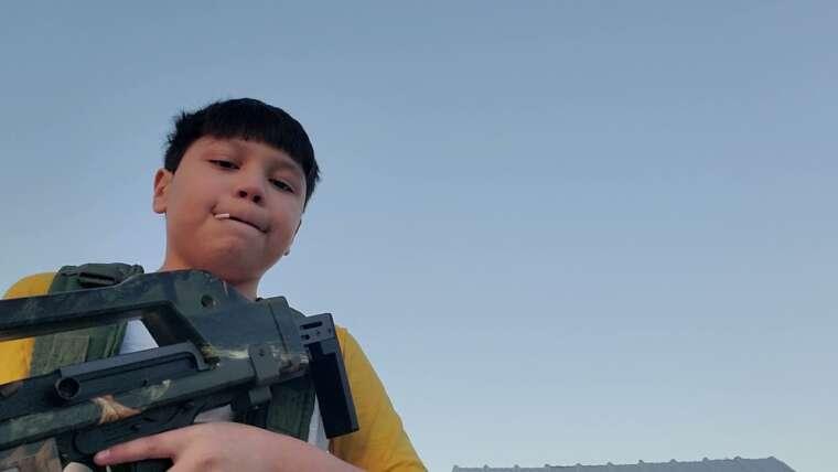 examen de la vitesse: carabine à impulsions Airsoft M41A