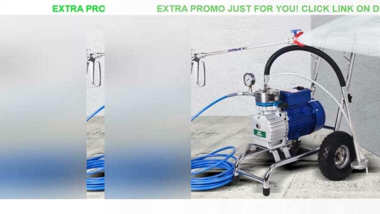 Évaluer Pistolets à air airsoft 4200W Machine de pulvérisation sans air haute pression Pistolet de pulvérisation sans air professionnel