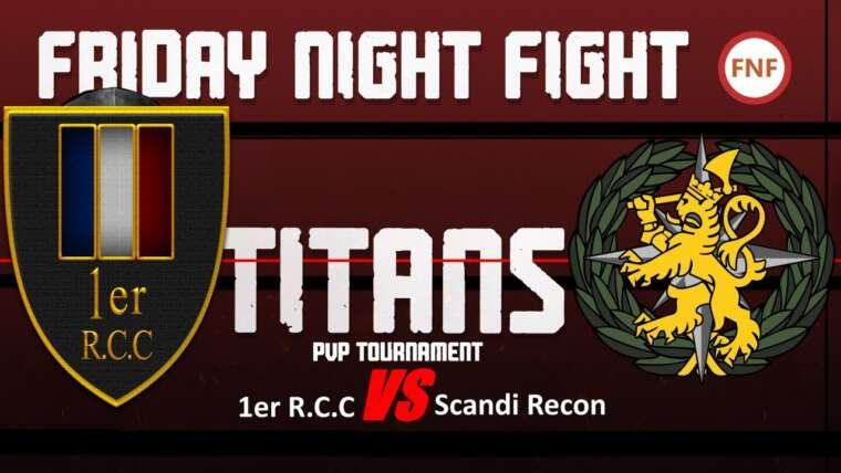 [FR] Arma 3 FNF TITAN: 1er RCC VS Scandi Recon [TvT] [Feat Lcpl.Liru]