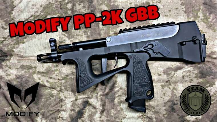 [REVIEW] MODIFIER PP2K / PP2000 Test Airsoft SMG GBB allemand / allemand, test Airsoft 6 mm