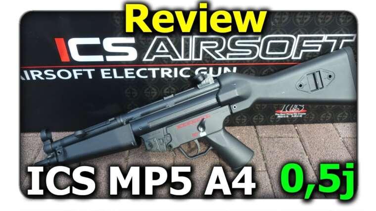 [Review] ICS Schwaben Arms SAR M41 / 05 FS A4 (MP5 A4) ||  Q-Airsoft