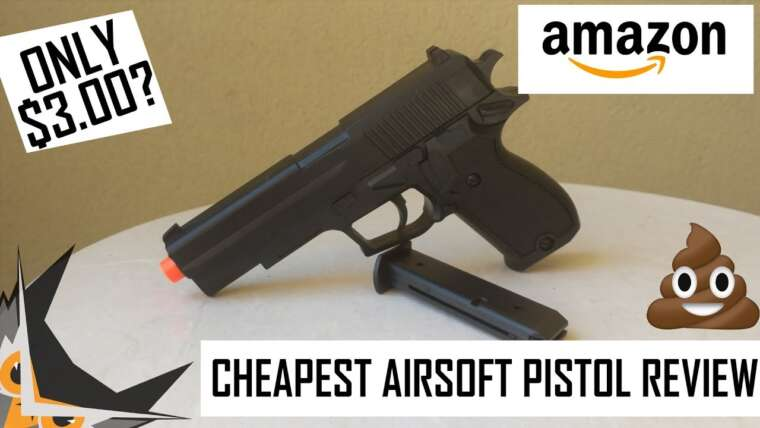PIRE PISTOLET AIRSOFT À 3 $?  |  UKARMS M1911 SPRING AIRSOFT
