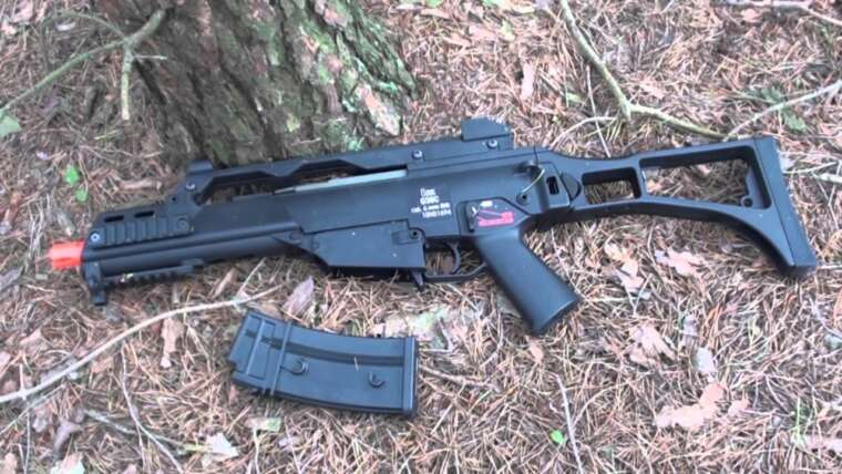ARES H&K G36C EBB Airsoft Gun Review
