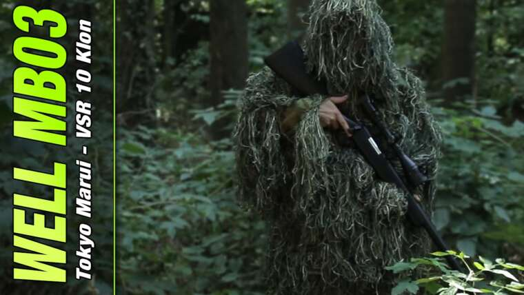 [Review] Eh bien MB-03 Sniper + Tuning (pas cher TM VSR 10?) 6mm BB Airsoft allemand / allemand