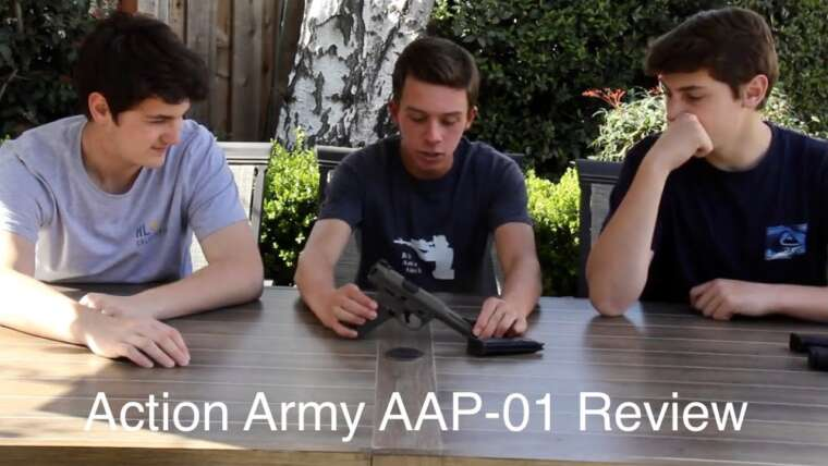 Action Army AAP-01 Review – Le laboratoire Airsoft Ep.  14