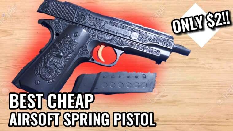 NOUVEAU!!  Pistolet Airsoft à 2 $ |  Critique du BM P355
