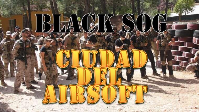 Black Sog |  City of Airsoft Vblog et départ