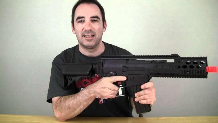 Test du pistolet Airsoft de l'Echo1 MTC 1 AEG