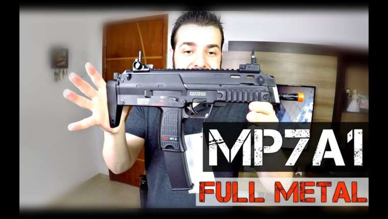 MP7A1 SWAT HK FULL METAL |  Revue Airsoft |  FBAIRSOFT