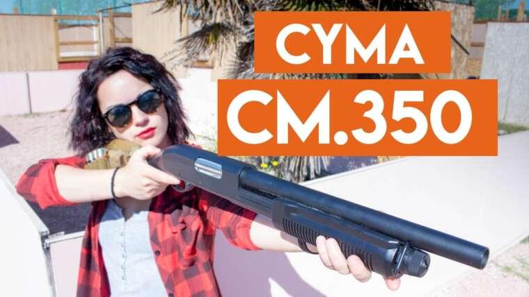 CM.350 Escopeta Cyma Critique |  Chemises tactiques Airsoft España