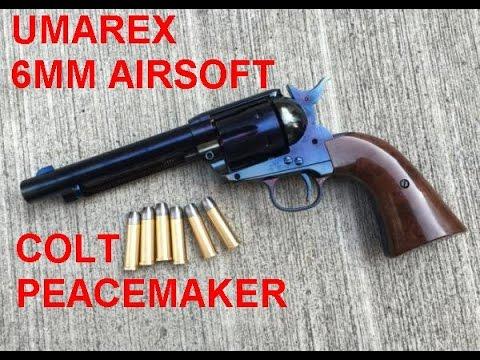 Umarex Colt SA Army 6mm Airsoft (TITANIUM) examen complet