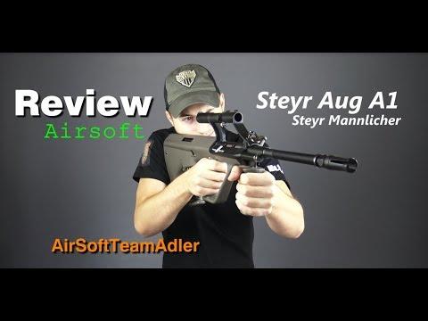 Steyr Aug A1 ASG Steyr Mannlicher Review