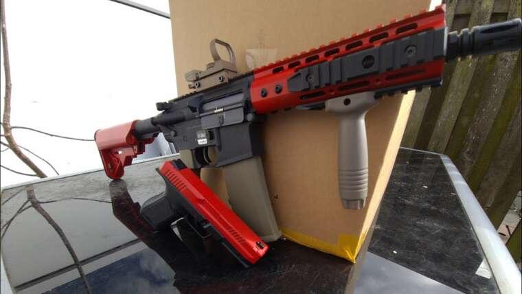 Examen des armes à feu Airsoft |  CYMA 127S Mosfet Edition et Specna Arms C12 CORE Carbine