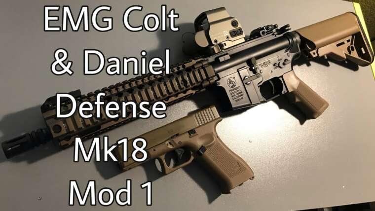 EMG Colt & Daniel Defense Mk18 Mod 1 par King Arms – Revue Airsoft