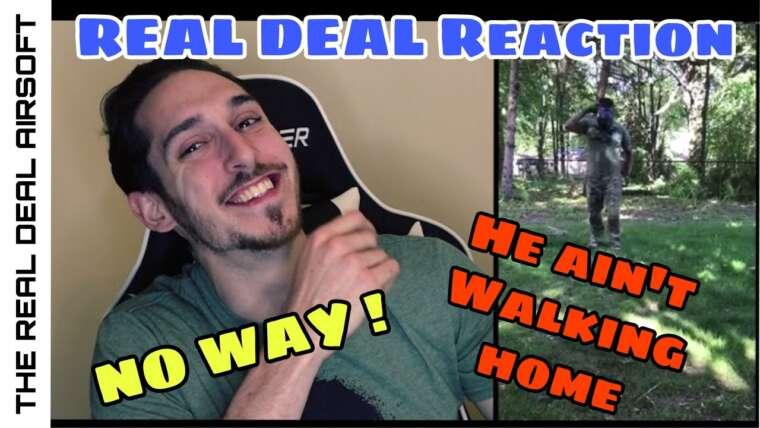 The Real Deal Reacts: Airsoft échoue et vidéo de réaction