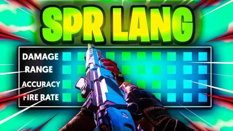 Utilisation de l'armurier ADS Speed le plus lent sur le SPR