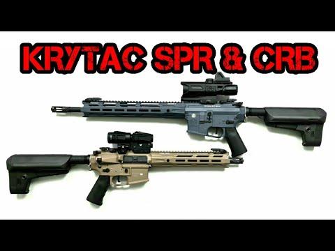 [U] Krytac MK2 SPR et CRB    Chaîne Airsoft de Tom
