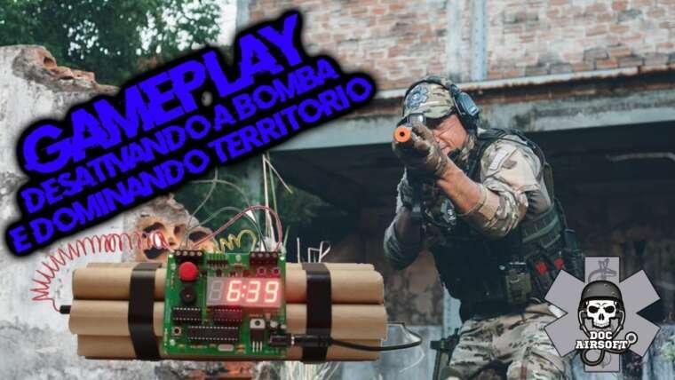 GAMEPLAY |  NOUS Désarmer LA POMPE ET LE TERRITOIRE DOMINENT |  AIRSOFT