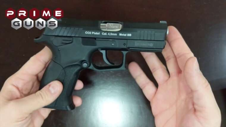Pistola Airgun CZ300 W129 Slide Métal Co2 4,5mm