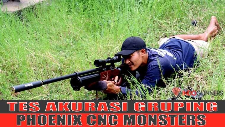 Prêt pour la chasse PCP PCP CNC Monsters Test de précision de regroupement de carabines à air comprimé
