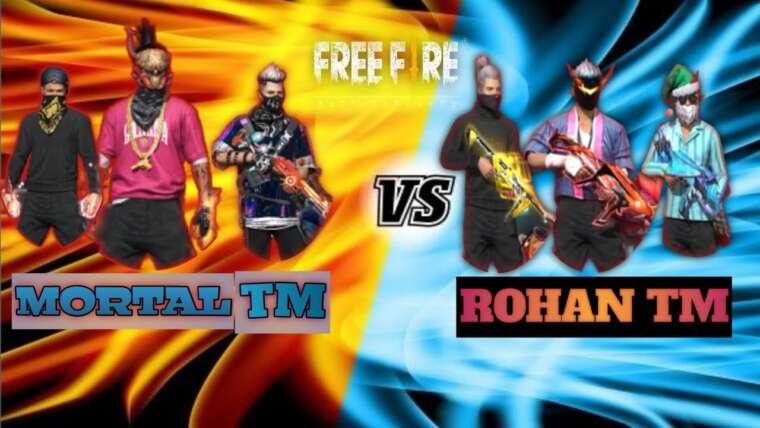 Mortal tm vs Rohan tm match mode personnalisé … Vidéo !!!  Qui est le vin !! 💪💪💪 !!