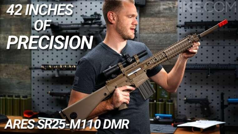 42 pouces de précision – ARES SR25 M110 DMR AEG