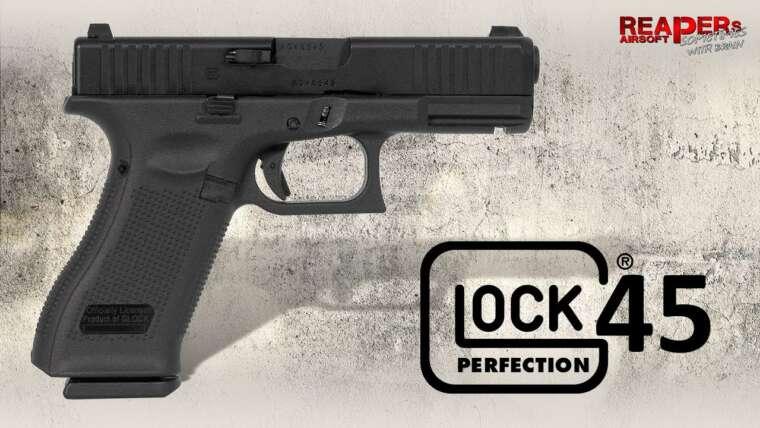 [Review] VFC GLOCK G45 Gas Blowback (Umarex License Backup, similaire à G19X) 6 mm Airsoft / Softair (DE)