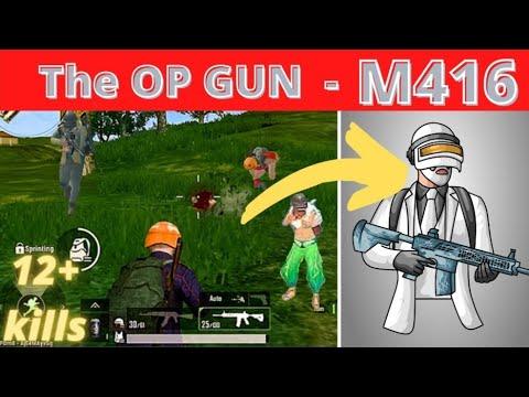 ||  Le pistolet OP – M416 ||  pubg mobile lite nouveau gameplay [2021] ||  #Litegaming