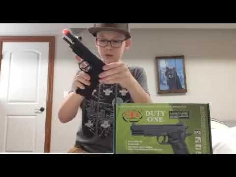 Revue du pistolet STI Duty One NBB et test de tir !!!