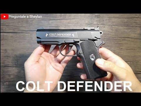 Colt Defender 1911 – CO2 Umarex – Unboxing et examen – En espagnol 4k