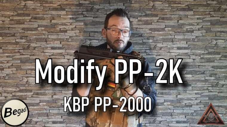 [Review] Modifier PP-2K CO2 GBB Gen.2 Airsoft |  aka KBP PP-2000