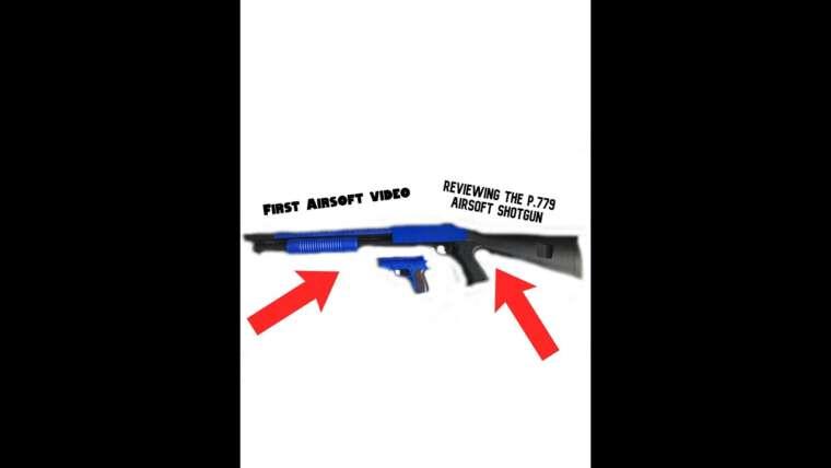 Première revue Airsoft (Cyma P.799 Shotgun)