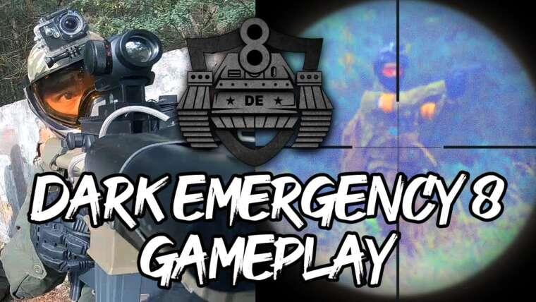 Urgence sombre 8 |  DE8 Airsoft Gameplay |  Deutsch
