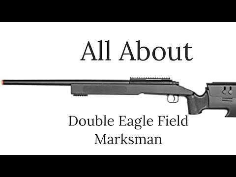 Test et examen du fusil de précision Airsoft Double Eagle Field Marksman Bolt Action Spring