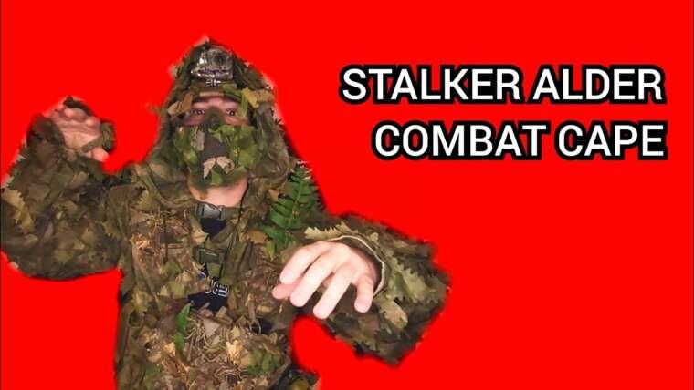 STALKER Alder Combat Cape / avis fr / GHILLIE SNIPER