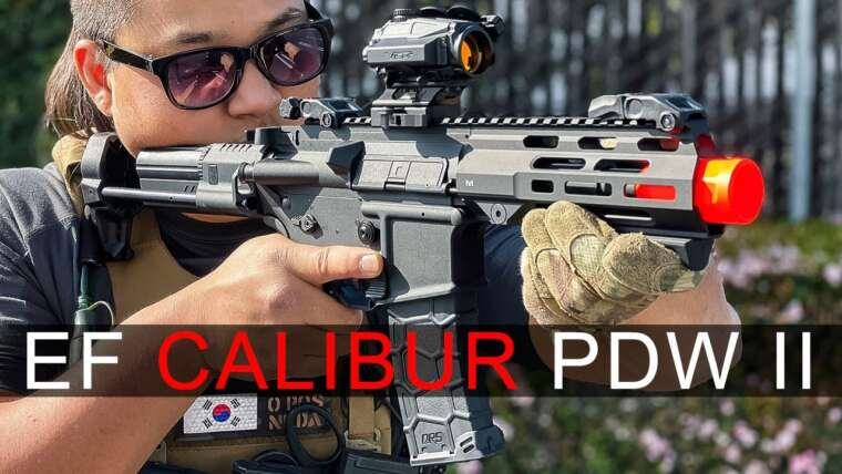 416 PDW?!  – Elite Force Avalon Calibur 2 PDW |  Airsoft GI
